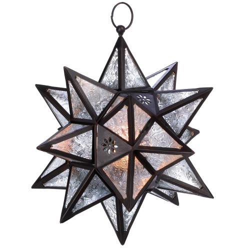 Accent Plus Moroccan Hanging Star Lantern