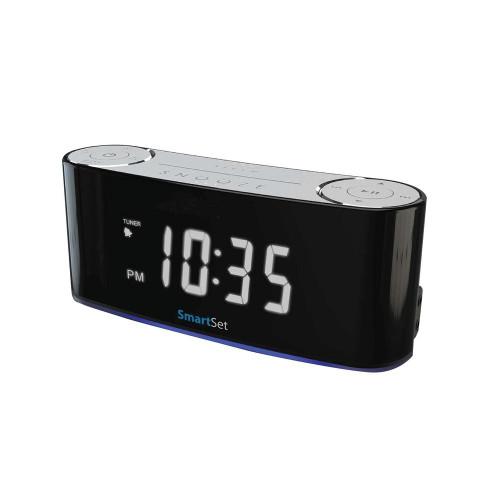 SYLVANIAR Sylvania Bluetooth Smart Set Mood Light Clock Radio