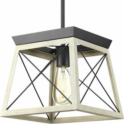 FastFurnishings Graphite Dimmable Farm Home Light Lantern Geometric Chandelier