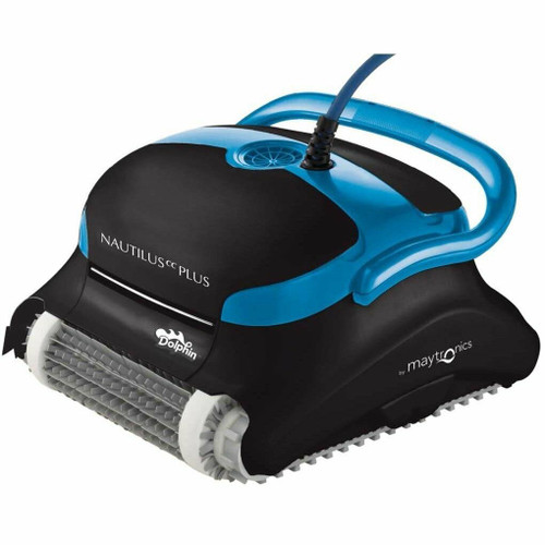 Maytronics Dolphin Nautilus Plus Robotic Pool Cleaner with Clever Clean