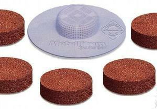 Lifeguard Purification Metal Foam Purifier High Porosity Disc For Spas 5 pack
