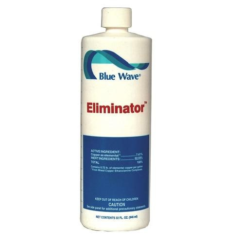 Blue Wave Blue Wave Eliminator Algaecide 1 Quart Bottle