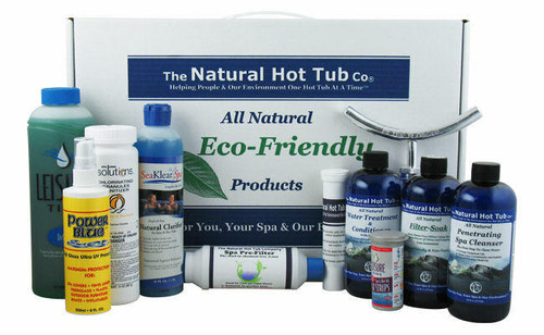 The Natural Hot Tub Company The Natural Hot Tub Company Deluxe Spa Package
