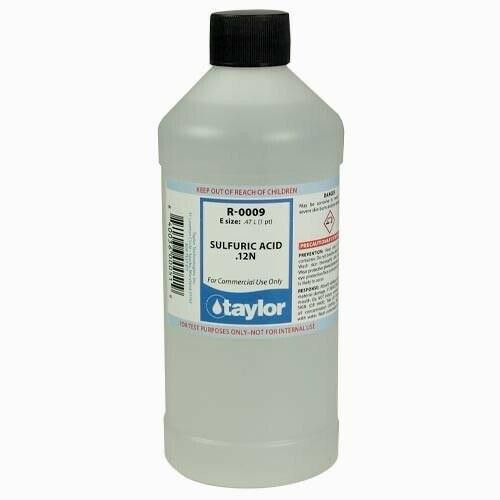 Taylor Taylor Reagent R-0009-E 16 ounce Bottle