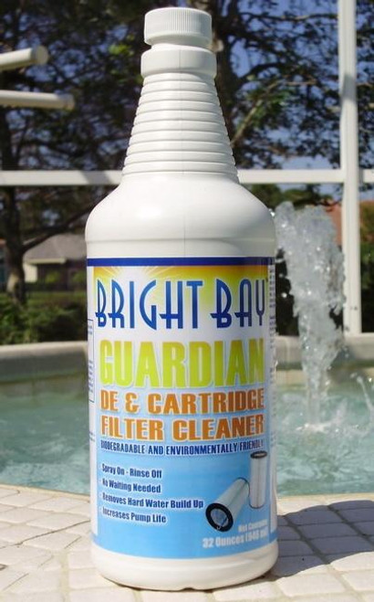 Bright Bay Products Bright Bay Guardian DE and Cartridge Filter Cleaner 32 Oz