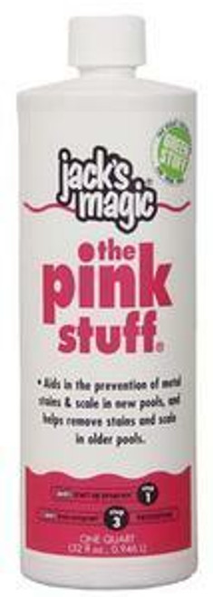 Jacks Magic Jacks Magic 1 Quart Metal Solution The Pink Stuff
