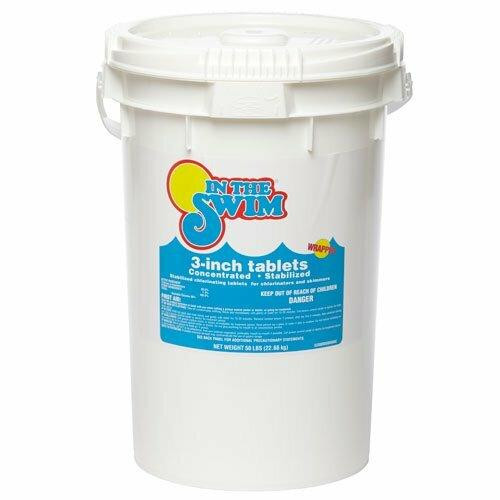In The Swim In the Swim 3 inch Chlorine Tablets 25 Pound Bucket