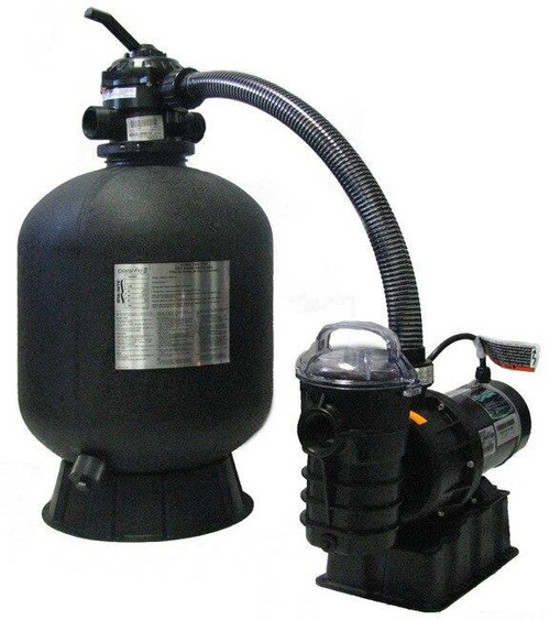 Sta-Rite Sta-Rite Premium Grade Sand Filter and Pump 19 Filter with 1hp Pump