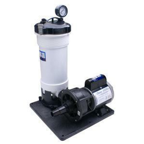 WaterWay WaterWay 520-4070LT TWM-30 Above Ground Cartridge Filter System without Leaf Trap