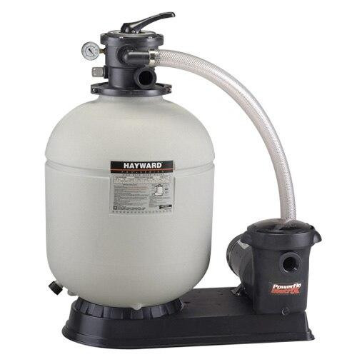 Hayward Hayward W3S180T92S Sand Filter System with 1hp Power Flo Matrix pump