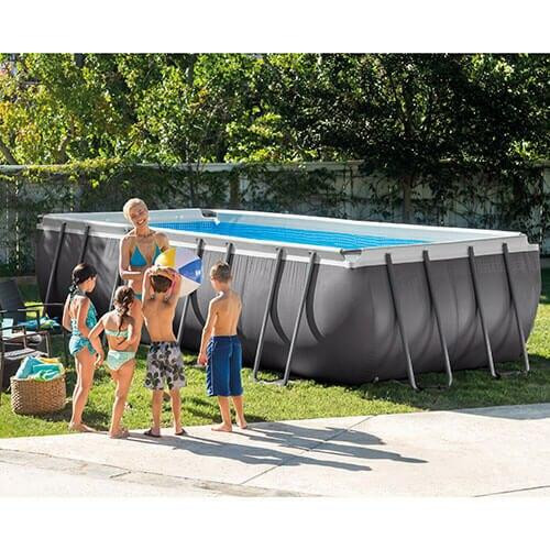 Intex Intex 18 x 9 x 52 Ultra Frame Pool Package Model 26351EH
