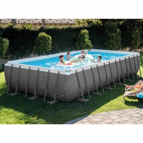 Intex Intex Above Ground Pool 24 x 12 x 52 Frame Set Pool Model 26361EH