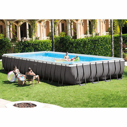Intex Intex Above Ground Pool 32 x 16 x 52 Frame Set Pool Model 26371EH