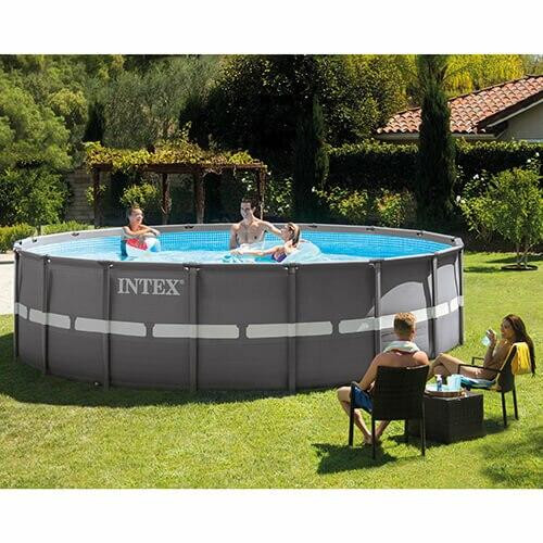 Intex Intex Ultra Frame Round Pool Package 18 x 52