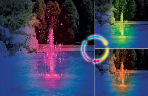 Swimline Kaleidoscope Color Changing LED Fountain