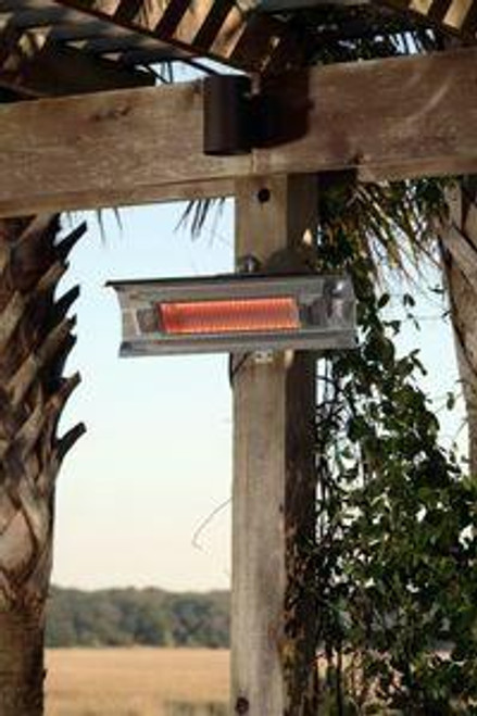 Well Traveled Living Stainless Steel Wall Mounted Infrared Patio Heater
