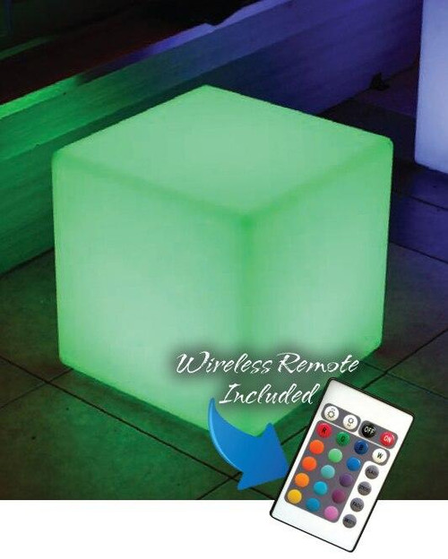 Main Access Illuminate Your Life The Cube Waterproof Floating LED Light