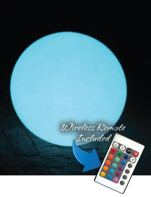 Main Access Illuminate Your Life The Ovoid Waterproof Floating LED Light