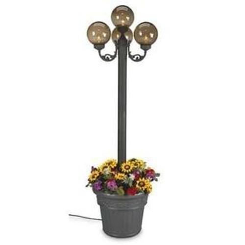 Patio Living Concepts Bronze Four Globe Planter Lamp