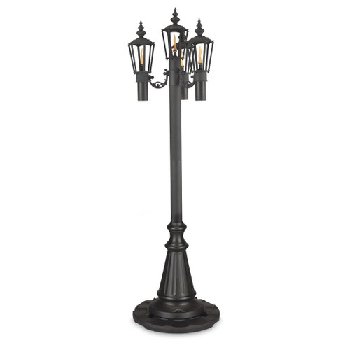 Patio Living Concepts Park Style Citronella Patio Lamp quad lamp