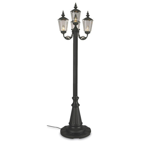 Patio Living Concepts Lantern Style Patio Lamp 4 lanterns