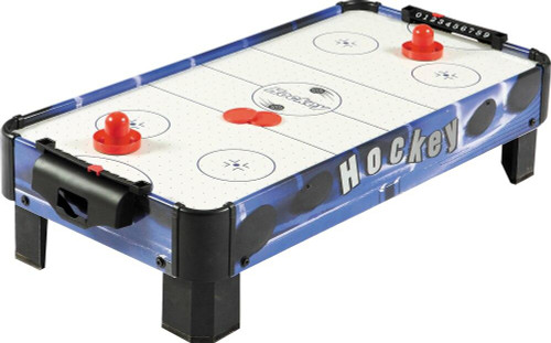 Carmelli Games and Sports Blue Line Air Hockey 32 inch Table Top Table