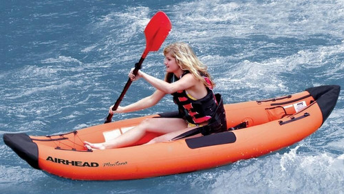 Airhead AIRHEAD Deluxe 1-Person Inflatable Travel Kayak