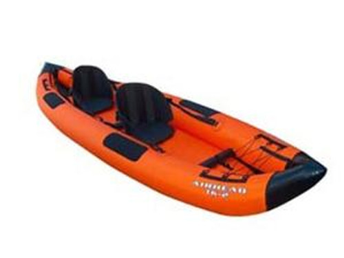 Airhead AIRHEAD Deluxe 2-Person Inflatable Travel Kayak