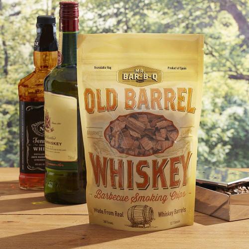 Mr Bar-B-Q Mr Bar-B-Q Old Barrel Whiskey Barbecue Smoking Chips