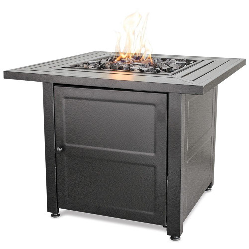 Endless Summer Endless Summer LP Gas Outdoor Fire Pit with Steel Mantel