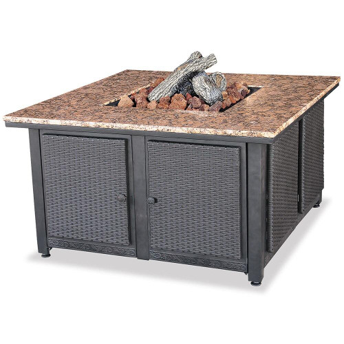 Endless Summer Endless Summer LP Gas Outdoor Fire Pit with Granite Mantel