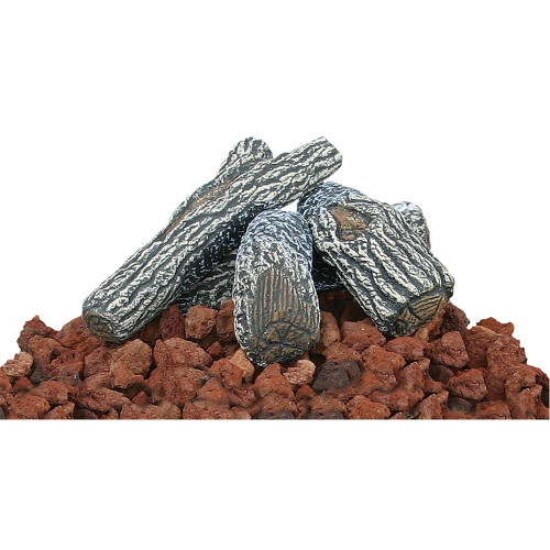 Endless Summer Endless Summer Lava Rock and Log Kit