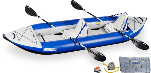 Sea Eagle Sea Eagle 380XK Deluxe Kayak Package