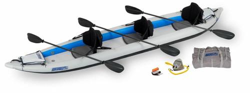Sea Eagle Sea Eagle 465FT Pro Carbon 3 Person Kayak Package
