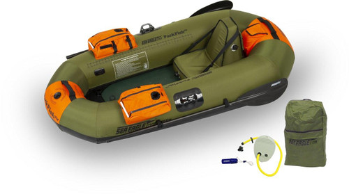 Sea Eagle Sea Eagle PackFish7 Pro Fishing Inflatable Boat