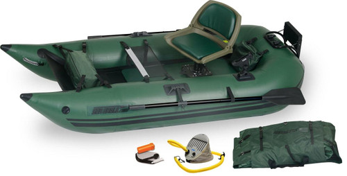 Sea Eagle Sea Eagle 285FPB Pro Frameless Pontoon Boat Package