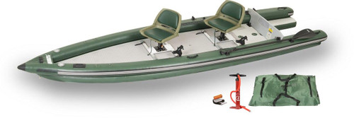 Sea Eagle Sea Eagle FSK16 2 Person Swivel Seat Boat Package