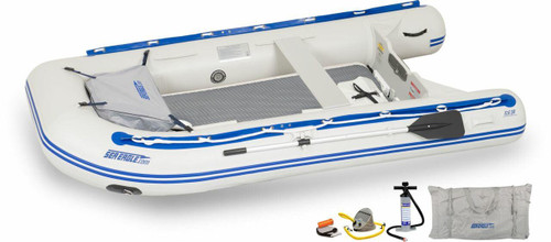 Sea Eagle Sea Eagle 106SR Deluxe Drop Stitch Runabout Boat Package