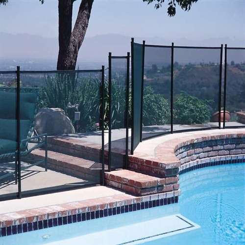 GLI Pool Products GLI Protect-A-Pool InGround 4ft x 10ft Removable Safety Fence
