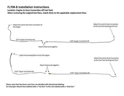 FL708-B Installation Instructions
