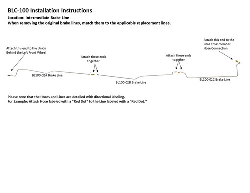 BLC-100 Installation Instructions