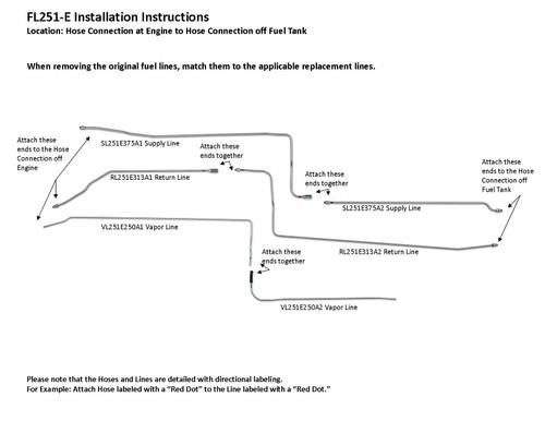 FL251-E Installation Instructions
