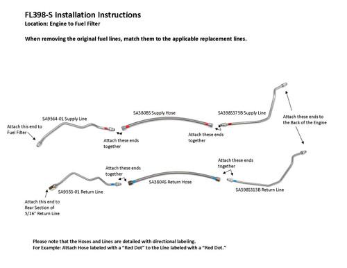 FL398-S Installation Instructions