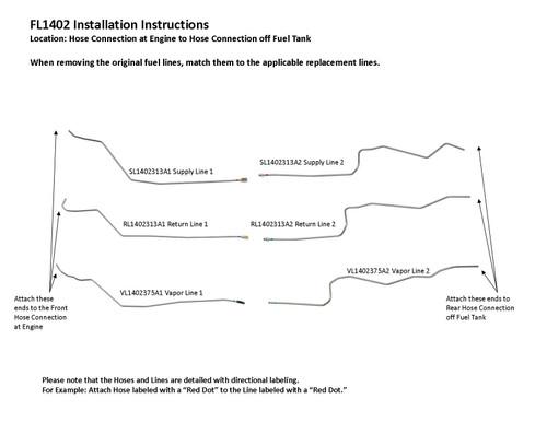 FL1402-SS Installation Instructions