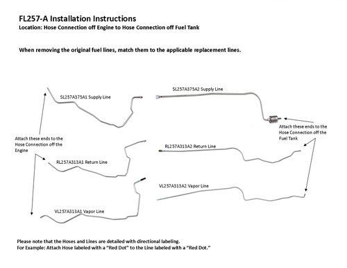 FL257-A Installation Instructions