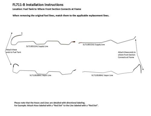 FL711-B Installation Instructions