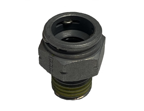 """Quick Connector Steel 3/8"""" for Transmission Lines 6541-01"""