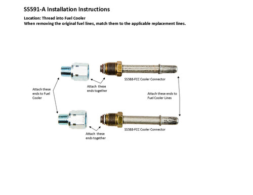SS591-A Installation Instructions