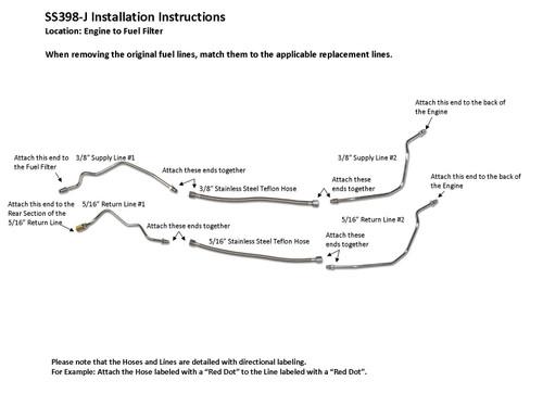 SS398-J Installation Instructions