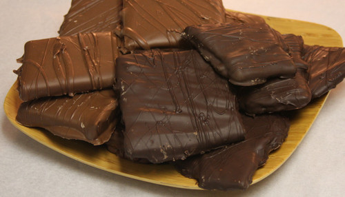 Chocolate Dipped Toffee